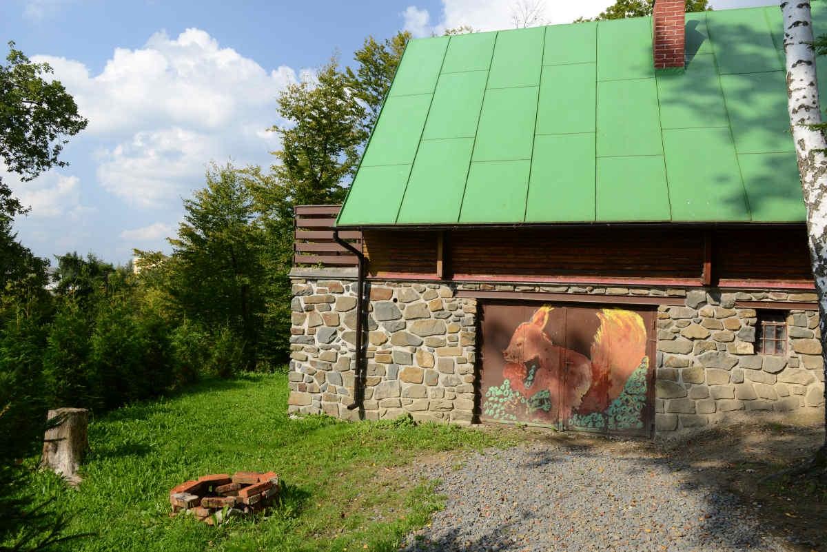 Cata U Veverky - romantická dovolená v chatě